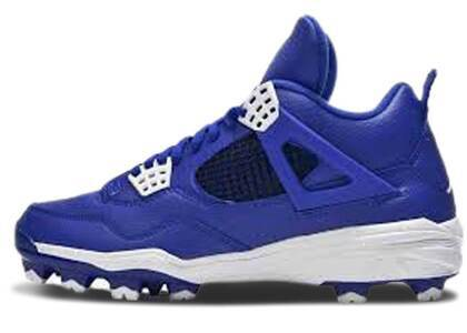 Nike Air Jordan 4 Retro Cleat Royalの写真