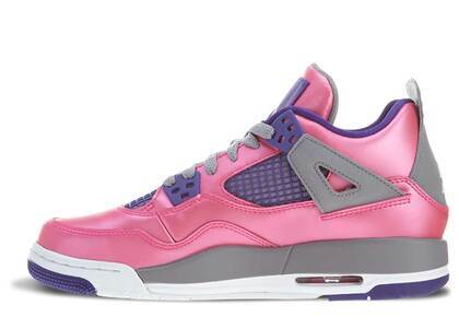 Nike Air Jordan 4 Retro Pink Foil GSの写真