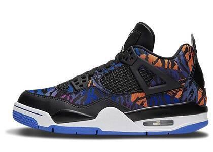 Nike Air Jordan 4 Retro Black Rush Violet GSの写真