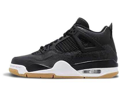 Nike Air Jordan 4 Retro Laser Black Gum GSの写真