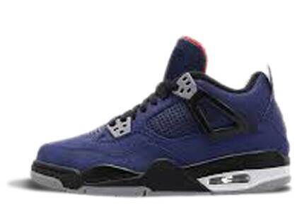 Nike Air Jordan 4 Retro Winterized Loyal Blue GSの写真