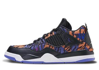 Nike Air Jordan 4 Retro Black Rush Violet PSの写真