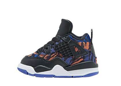 Nike Air Jordan 4 Retro Black Rush Violet TDの写真