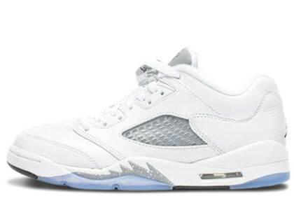 Nike Air Jordan 5 Retro Low Wolf Grey GSの写真