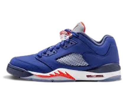 Nike Air Jordan 5 Retro Low Knicks GSの写真