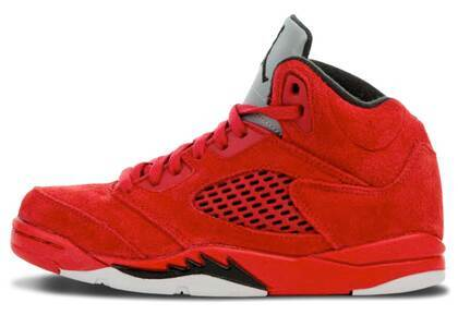 Nike Air Jordan 5 Retro Red Suede PSの写真
