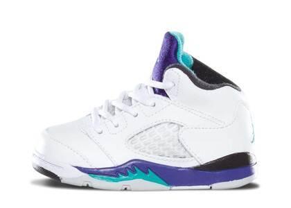 Nike Air Jordan 5 Retro Grape TD (2013)の写真