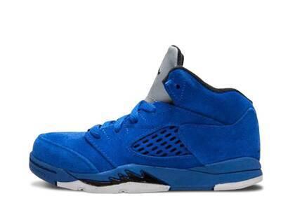 Nike Air Jordan 5 Retro Blue Suede TDの写真
