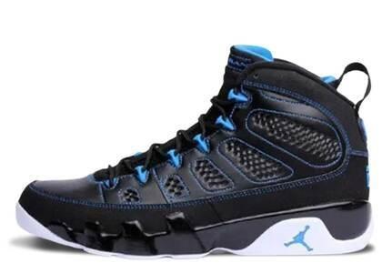 Nike Air Jordan 9 Retro Photo Blue Black Bottom (B-Grade)の写真