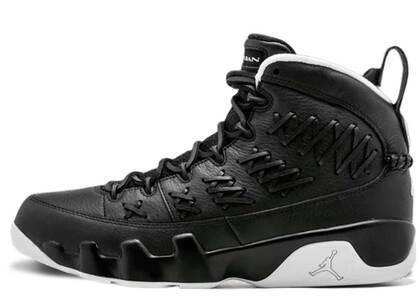 Nike Air Jordan 9 Retro Pinnacle Baseball Blackの写真