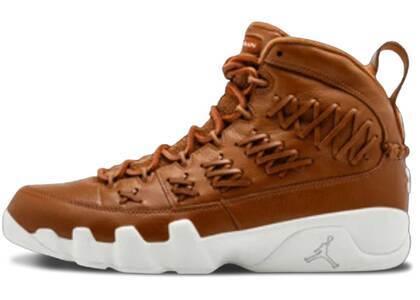 Nike Air Jordan 9 Retro Pinnacle Baseball Brownの写真