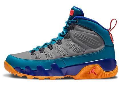 Nike Air Jordan 9 Retro Boot Green Abyssの写真