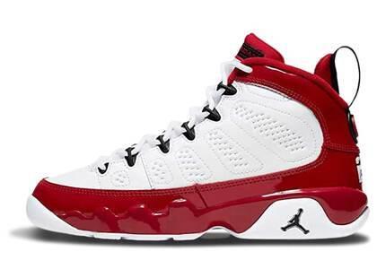 Nike Air Jordan 9 Retro White Gym Red GSの写真