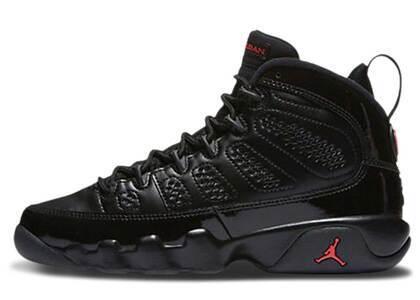 Nike Air Jordan 9 Retro Bred Patent GSの写真