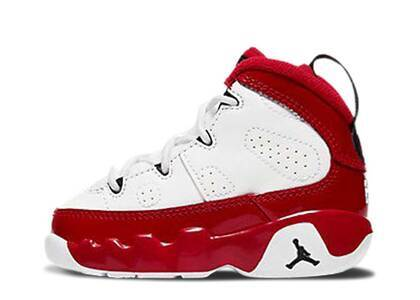 Nike Air Jordan 9 Retro White Gym Red TDの写真