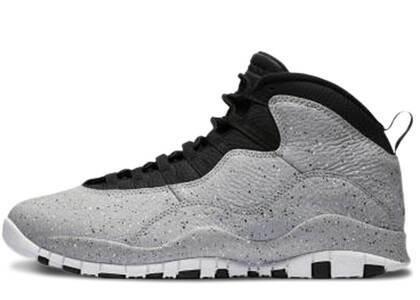 Nike Air Jordan 10 Retro Light Smoke Greyの写真