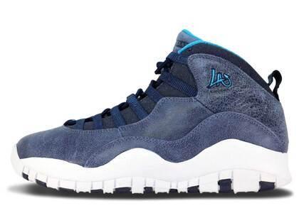 Nike Air Jordan 10 Retro Los Angelesの写真