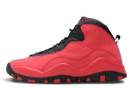 Nike Air Jordan 10 Retro Fusion Red GSの写真