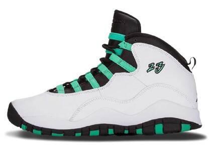 Nike Air Jordan 10 Retro Verde GSの写真