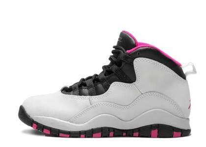 Nike Air Jordan 10 Retro Vivid Pink PSの写真