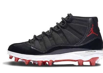 Nike Air Jordan 11 Retro Cleat Bredの写真