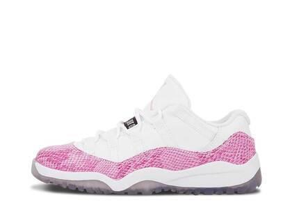 Nike Air Jordan 11 Retro Low Pink Snakeskin PSの写真
