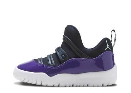 Nike Air Jordan 11 Retro Little Flex Black Court Purple TDの写真