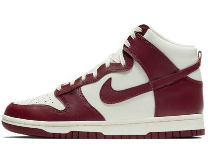 Nike Dunk High Team Red Womens