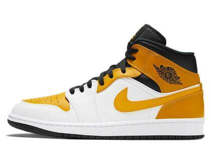 Nike Air Jordan 1 Mid University Goldの写真