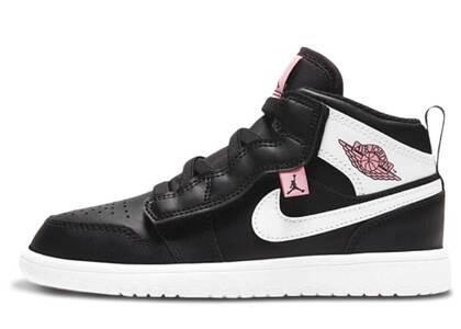 Nike  Jordan 1 Mid Arctic Pink Black PSの写真