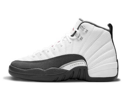 Nike Air Jordan 12 Retro White Dark Grey GSの写真