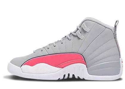 Nike Air Jordan 12 Retro Wolf Grey Racer Pink GSの写真