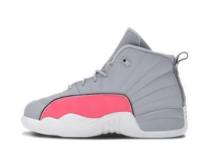 Nike Air Jordan 12 Retro Wolf Grey Racer Pink PSの写真