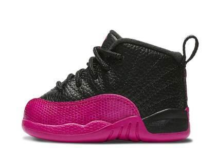 Nike Air Jordan 12 Retro Black Deadly Pink TDの写真