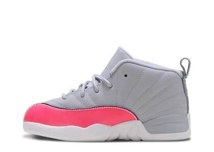 Nike Air Jordan 12 Retro Wolf Grey Racer Pink TDの写真