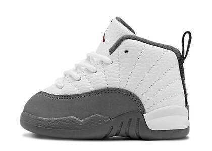 Nike Air Jordan 12 Retro White Dark Grey TDの写真