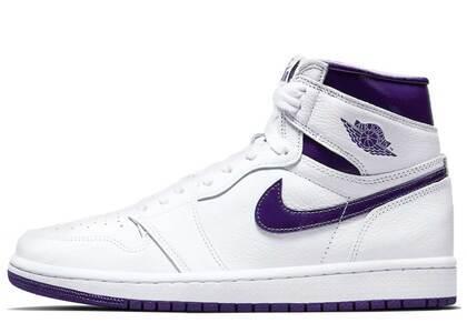 Nike Air Jordan 1 High OG Court Purple Womensの写真