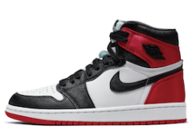 Nike Air Jordan 1 Retro High Satin Black Toe Womensの写真