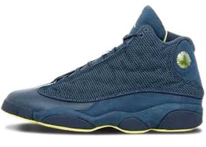 Nike Air Jordan 13 Retro Squadron Blueの写真