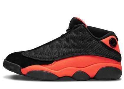 Clot × Nike Air Jordan 13 Retro Low Black Redの写真