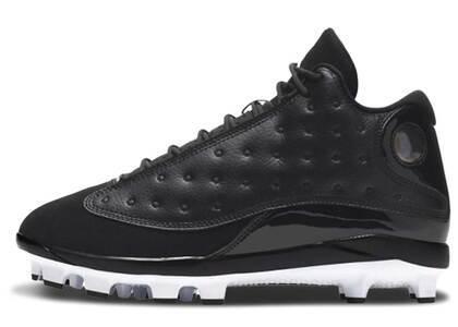 Nike Air Jordan 13 Retro Metal Cleat Blackの写真
