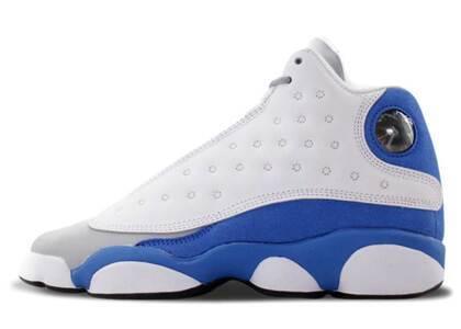 Nike Air Jordan 13 Retro White Italy Blue GSの写真