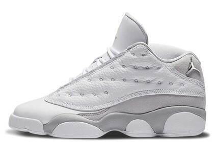 Nike Air Jordan 13 Retro Low Pure Platinum GSの写真