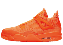 Nike Air Jordan 4 Retro Flyknit Orangeの写真