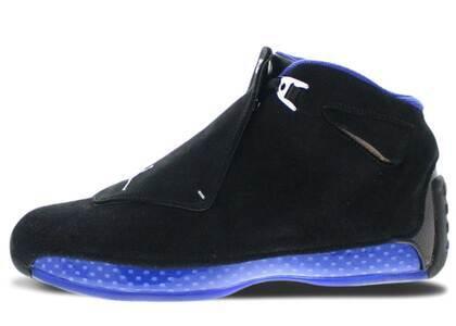 Nike Air Jordan 18 Retro Black Sport Royalの写真