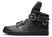 Nike Air Jordan 1 Retro High Comme des Garcons Blackの写真