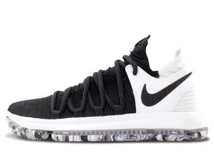 Nike KD 10 Black Whiteの写真