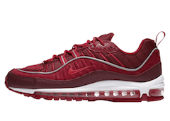 AIR MAX 98 SE TEAM RED/HABANERO RED-GYM RED-WHITEの写真