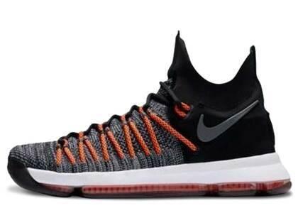 Nike KD 9 Elite Dark Grey Hyper Orangeの写真