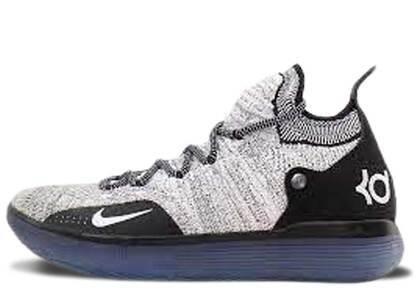 Nike KD 11 Black White Racer Blueの写真